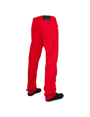 5 Pocket Pants Red