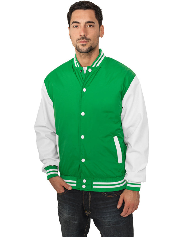 Light College Jacket TB101 cgr/wht Green