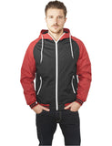 Raglan Windbreaker TB1022 blk/red Black