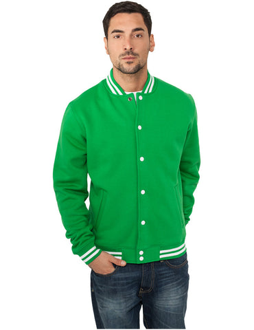 College Sweatjacket TB119 c.green Green