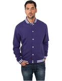 College Sweatjacket TB119 purple Purple