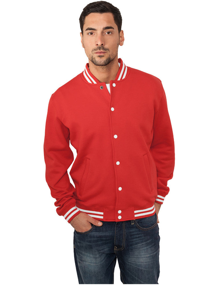 College Sweatjacket TB119 red Red