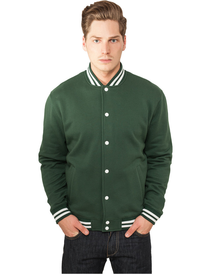 College Sweatjacket TB119 forest Green