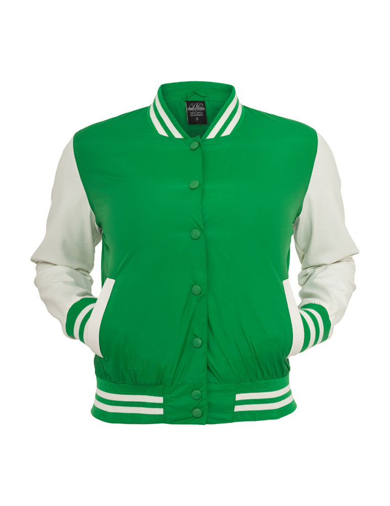 Ladies Light College Jacket TB132 cgr/wht Green
