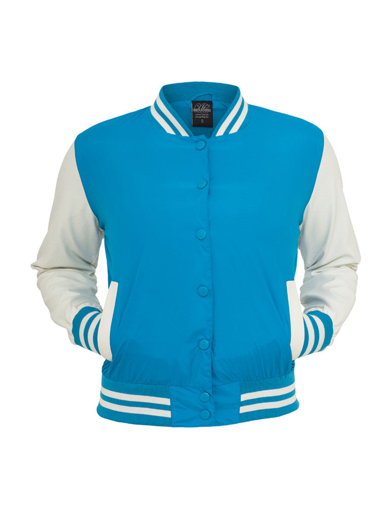 Ladies Light College Jacket TB132 tur/wht Turquoise