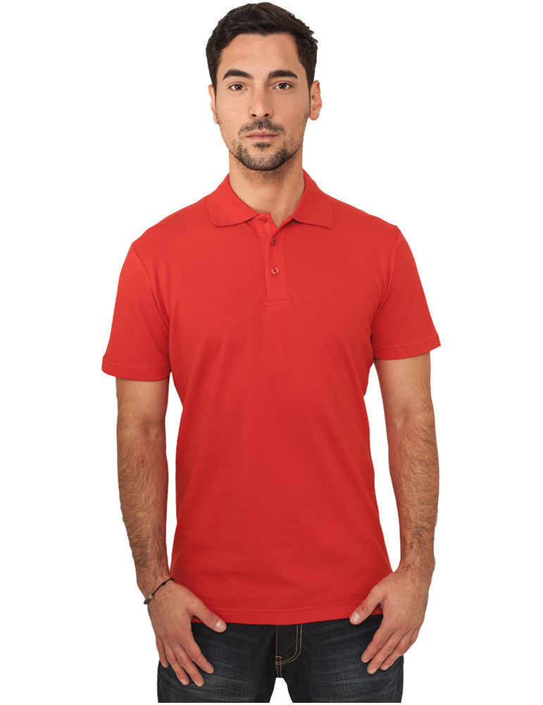 Basic Polo TB151 red Red