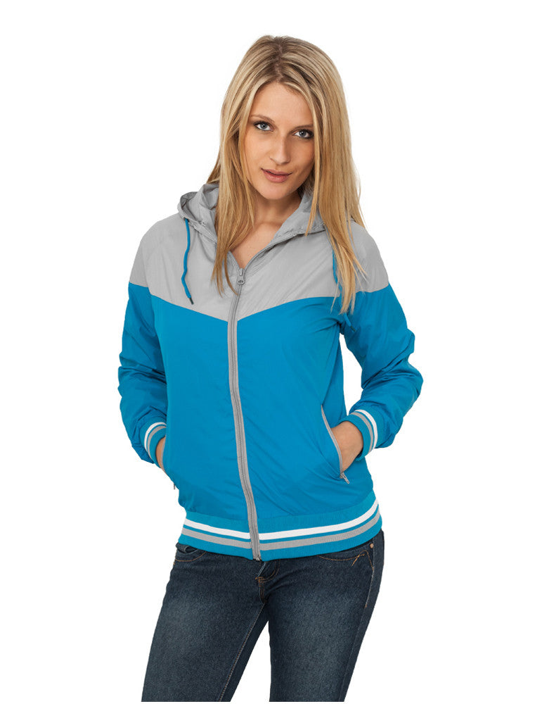 Ladies Windrunner TB155 gry/tur Grey