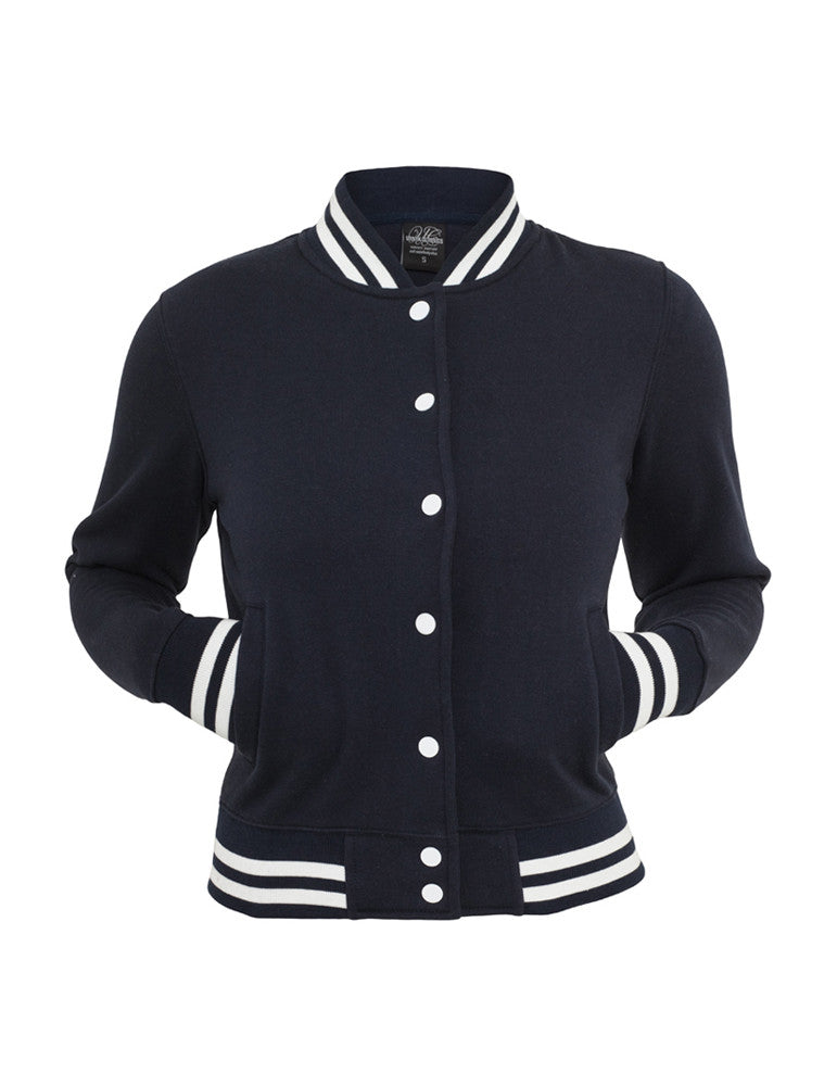 Ladies College Sweatjacket TB216 navy Navy