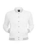 Ladies College Sweatjacket TB216 white White