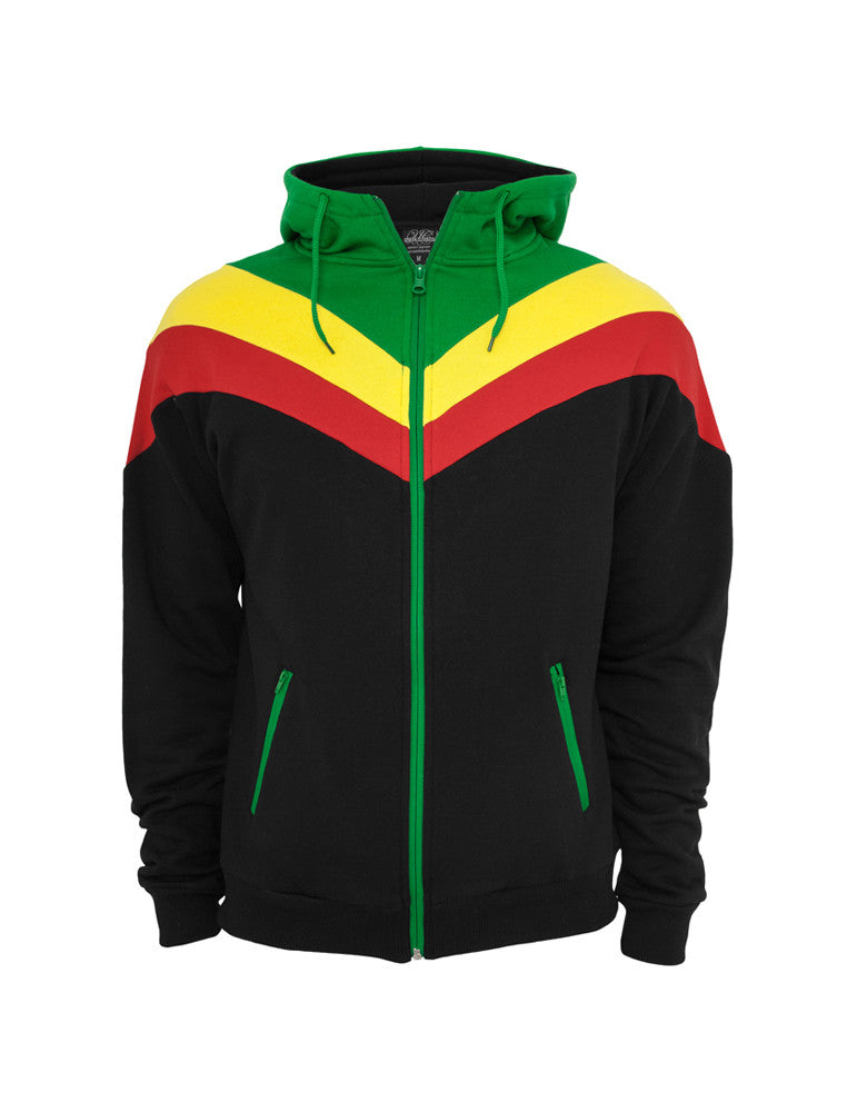 Arrow Sweat Zip Hoody TB289 blk/ras Black