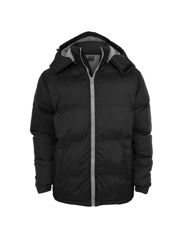 Bubble Long Jacket TB337 blk/gry Black