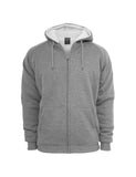 Winter Zip Hoody TB345 gry/ecru Grey