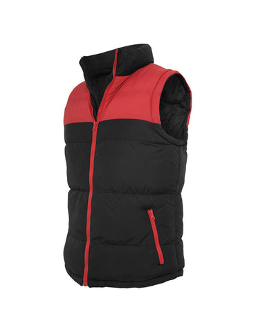 2-tone Bubble Vest TB346 blk/red Black