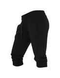 Ladies French Terry Capri TB364 black Black