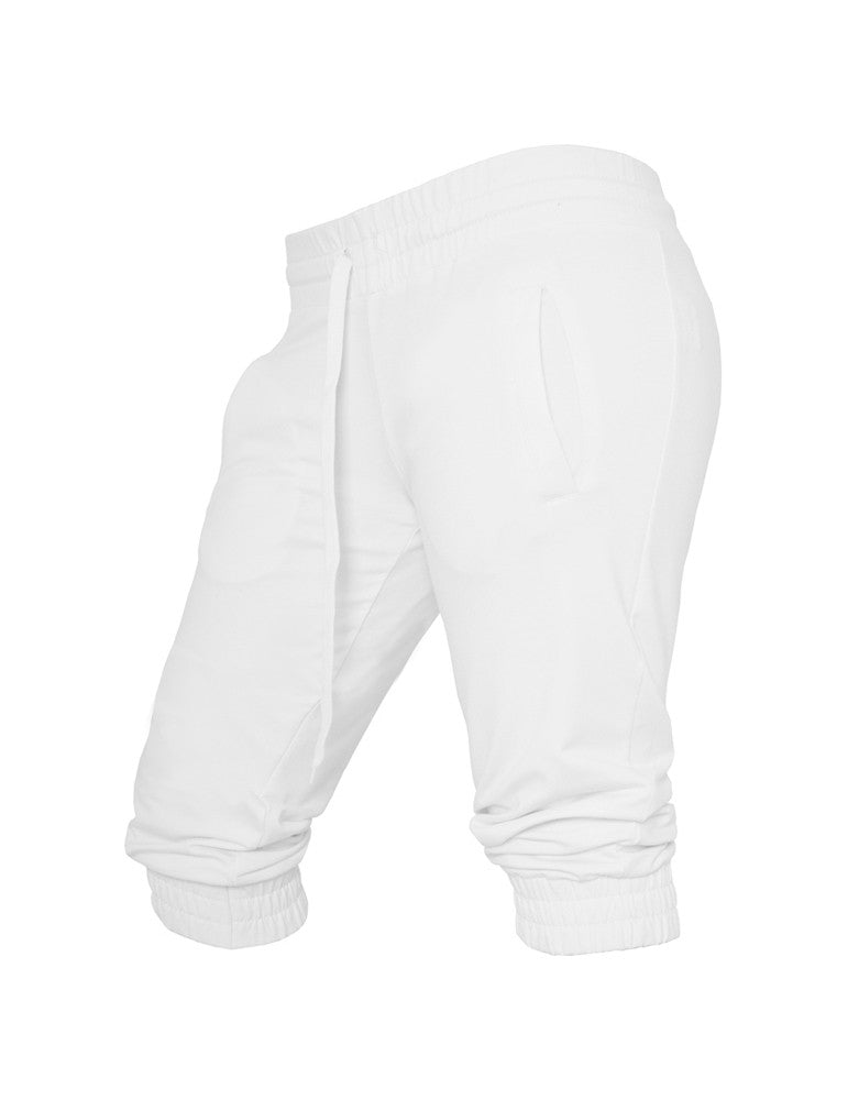 Ladies French Terry Capri TB364 white White