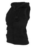 Ladies Teddy Vest TB393 black Black