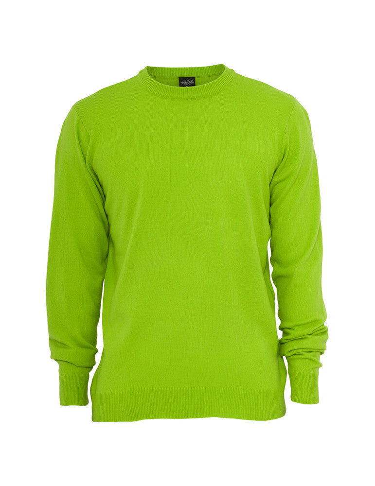Knitted Crewneck TB402 limegreen Green