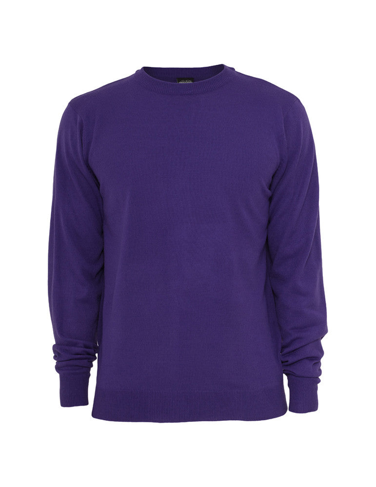 Knitted Crewneck TB402 purple Purple