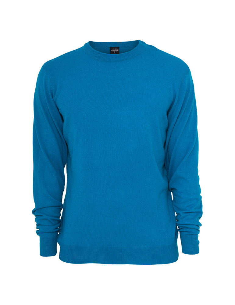 Knitted Crewneck TB402 turquoise Turquoise