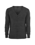 Knitted Cardigan TB405 charcoal Grey