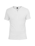 Slim 1by1 Henley Tee TB446 white White