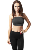 Ladies Bandeau Top TB451 charcoal Grey