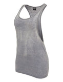 Ladies Loose Burnout Tank TB456 denimblue Dark Blue