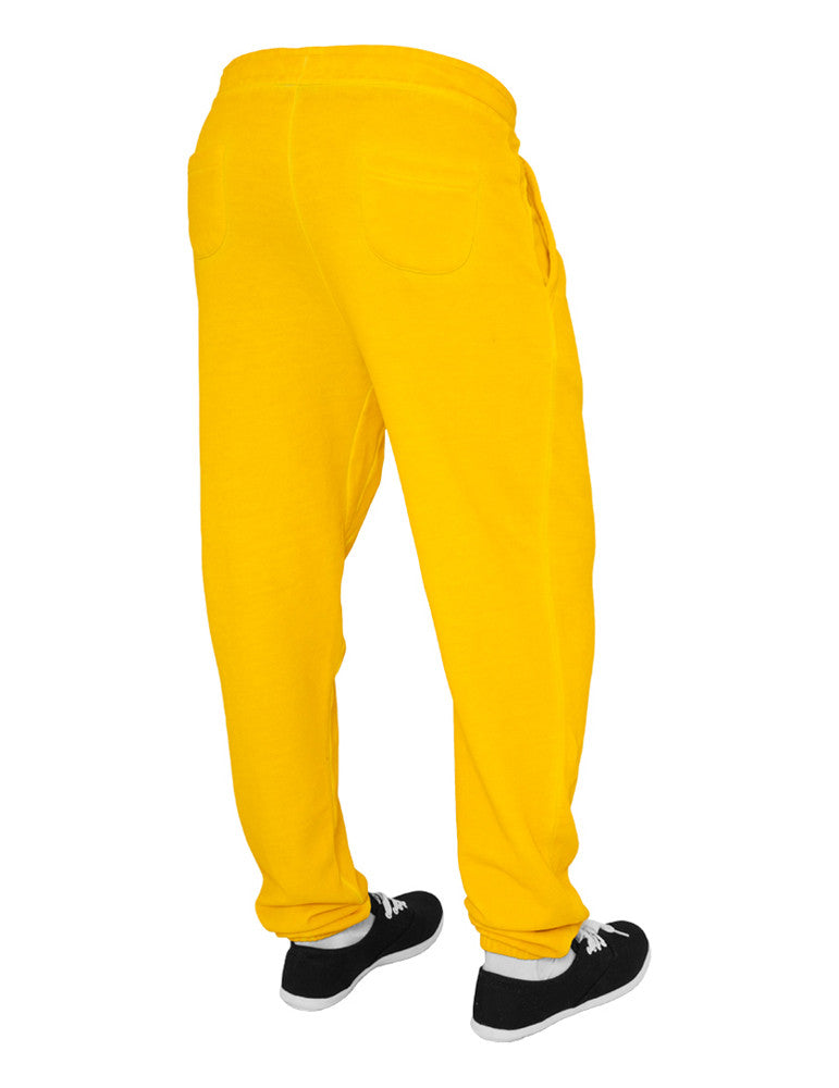 Ladies Spray Dye Sweatpant TB459 yellow Yellow