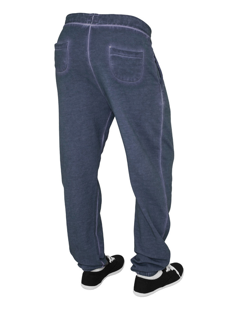 Ladies Spray Dye Sweatpant TB459 denimblue Dark Blue