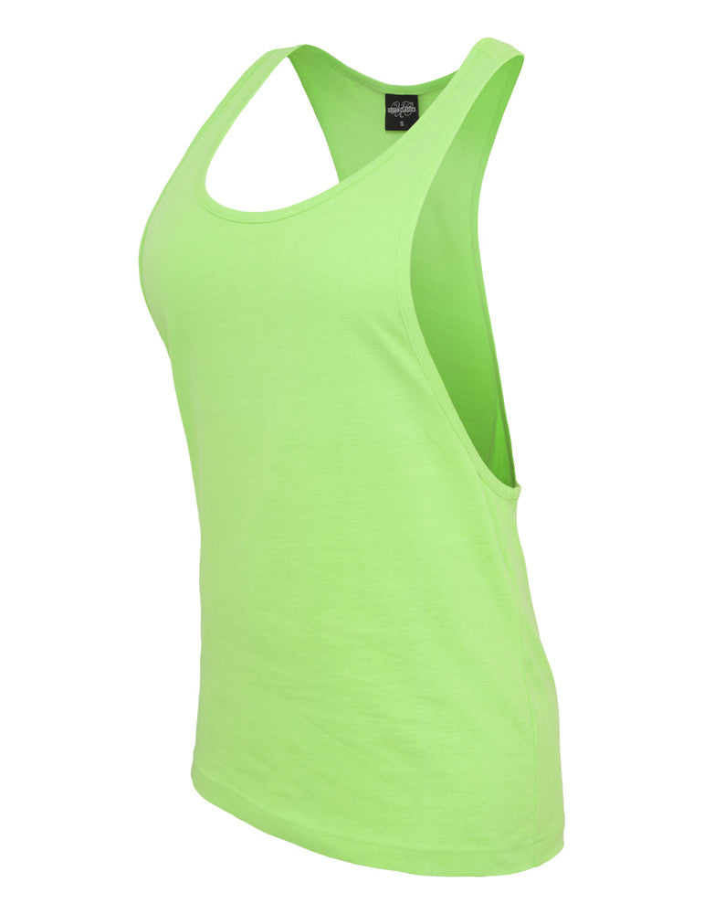 Ladies Loose Neon Tanktop TB462 neongreen Green