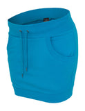 Ladies French Terry Skirt TB466 turquoise Turquoise