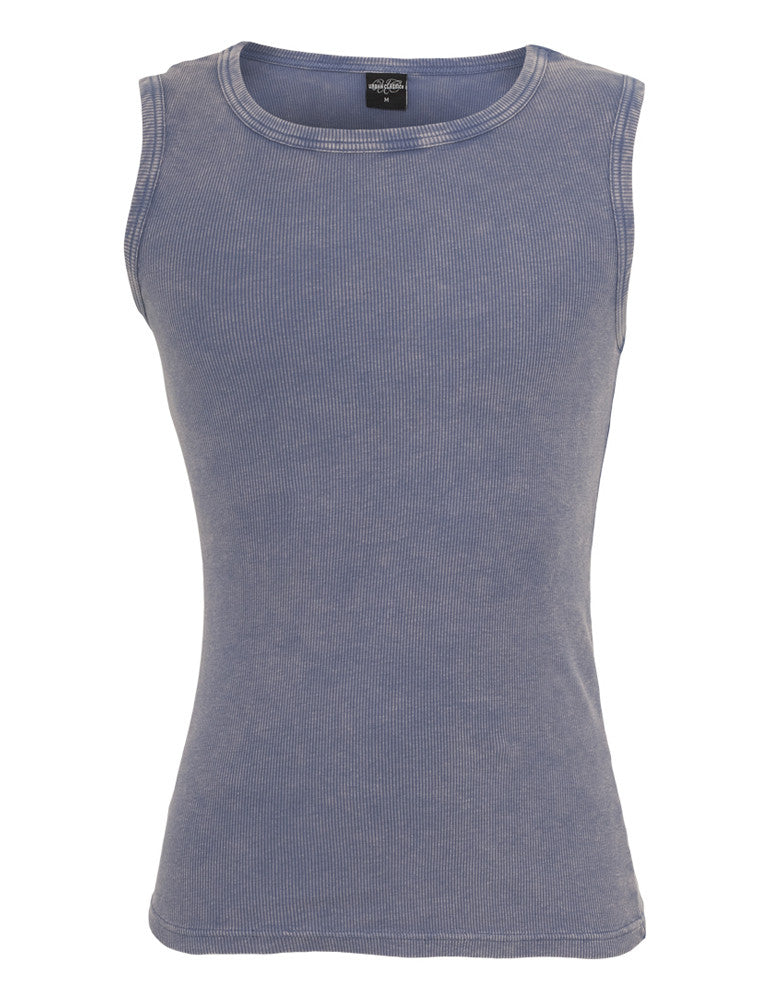 Faded Tanktop TB471 denimblue Dark Blue