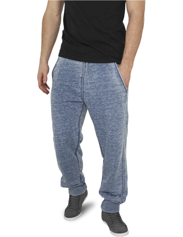 Burnout Sweatpants TB476 denimblue Dark Blue