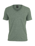 Melange V-Neck Pocket Tee TB484 green Green