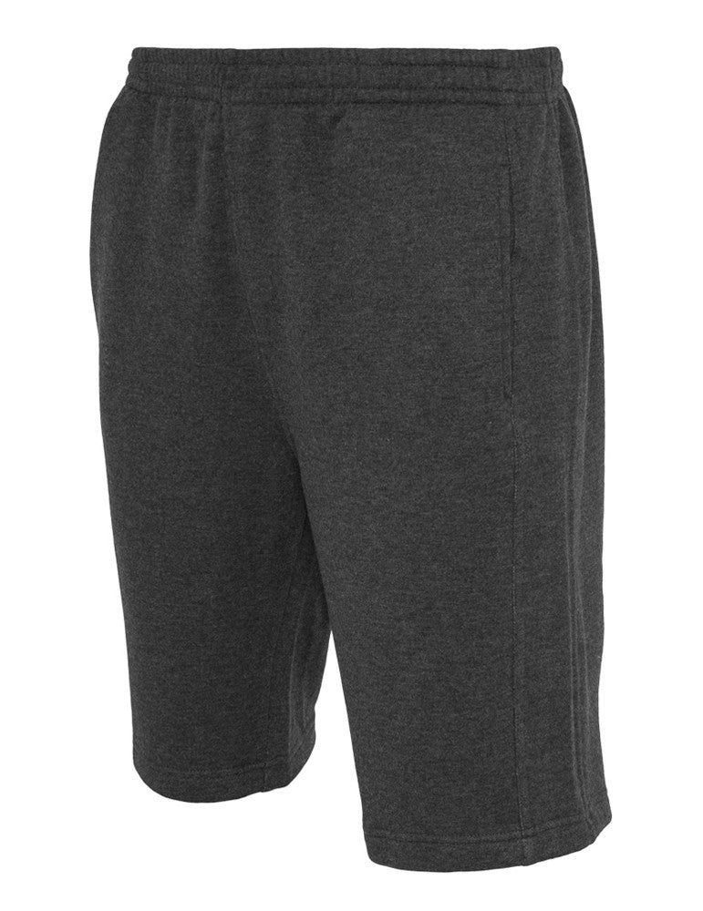 Light Fleece Sweatshorts TB502 charcoal Grey