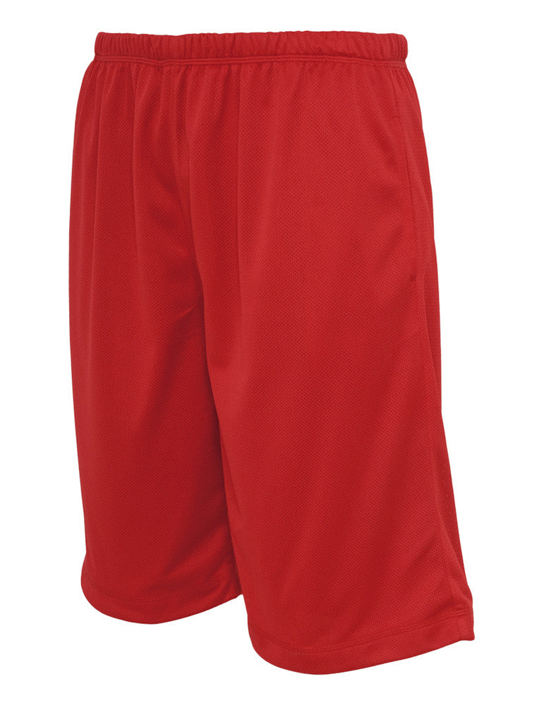 BBall Mesh Shorts with Pockets TB508 red Red