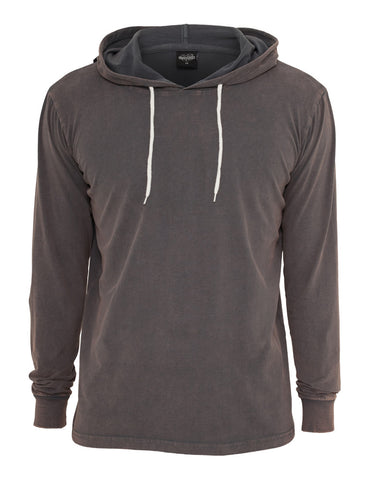 Heavy Peached Hoody TB531 darkgrey Grey