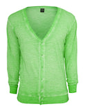 Spray Dye Slub Cardigan TB534 mint Green