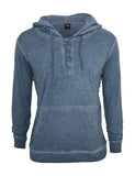Spray Dye Slubjersey Hoody TB535 denimblue Dark Blue
