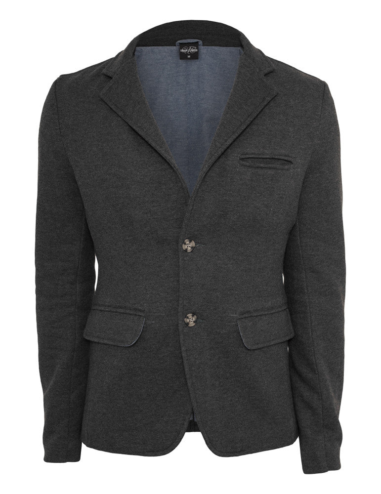Sweat Blazer TB548 charcoal Grey