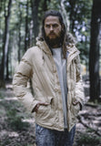 Chambray Lined Parka TB574 beige Beige