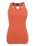 Ladies Cutted Back Tanktop TB588 hummer Orange