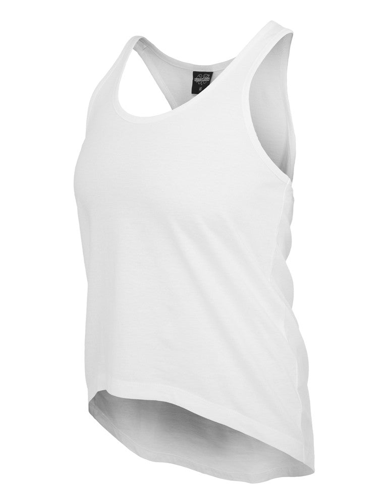 Ladies Wide Tank TB589 white White