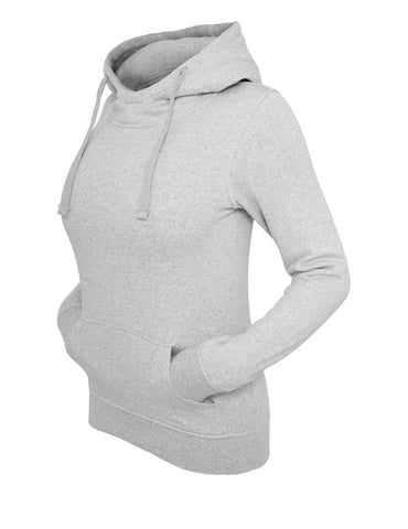 Ladies Melange Hoody TB611 lightgrey Grey