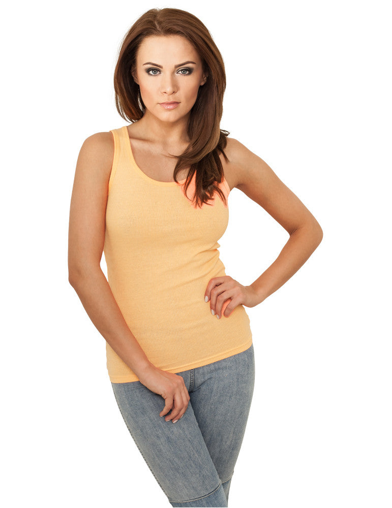 Ladies Neon Tanktop TB695 neonorange Orange