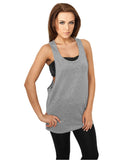 Ladies Lurex Loose Tank TB704 silver Silver