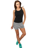 Ladies Light Fleece Hot Pant TB753 grey Grey