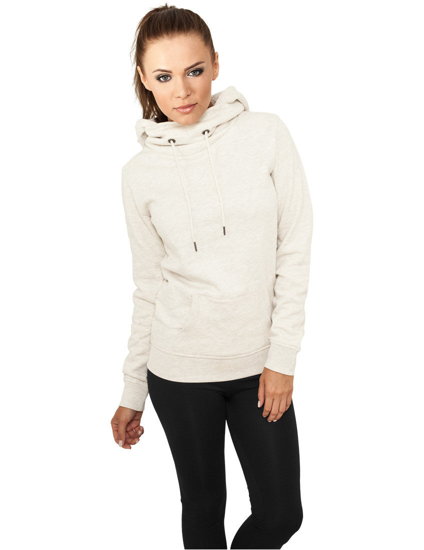 Ladies High Neck Hoody TB772 offwhite White