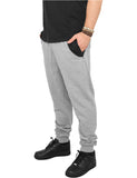 Side Zip Contrast Pocket Sweatpant TB810 gry/blk Grey