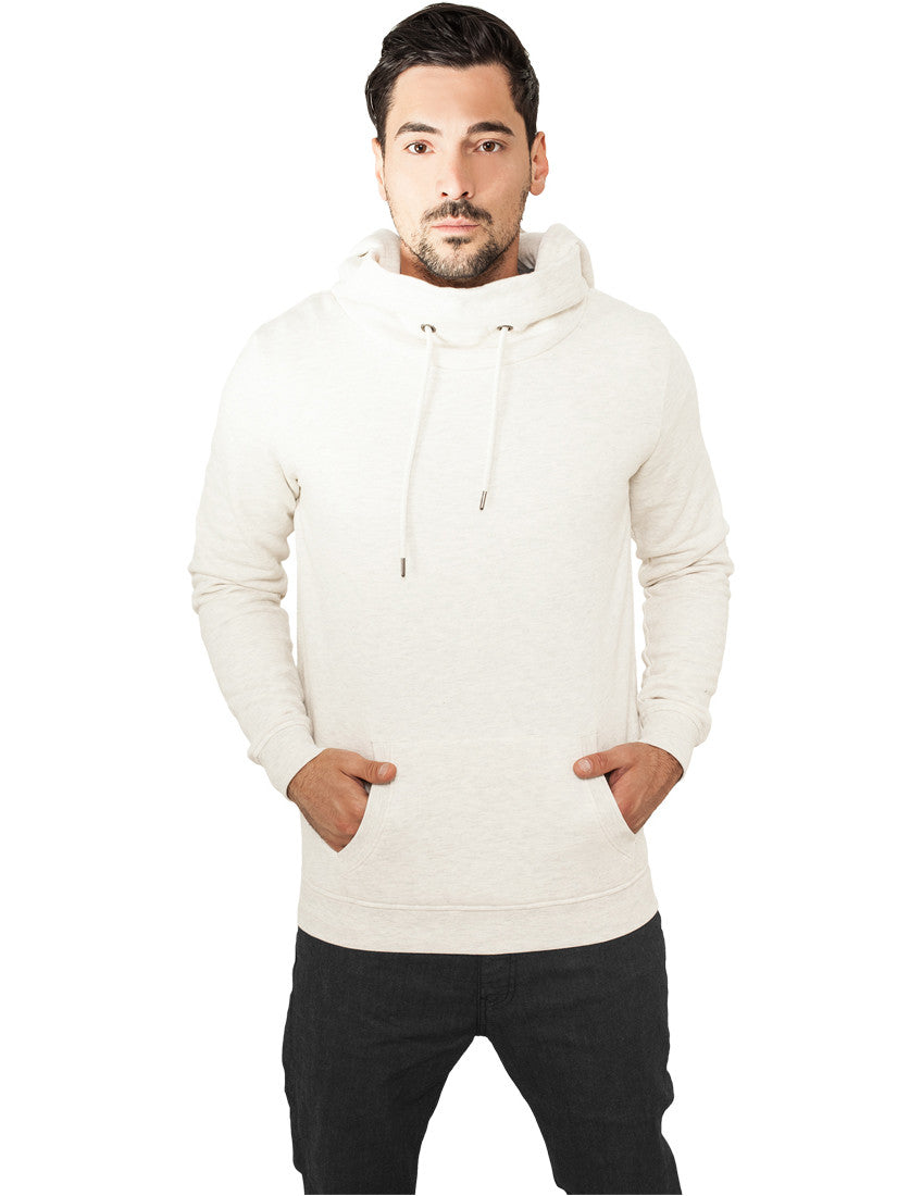 High Neck Hoody TB834 offwhite White